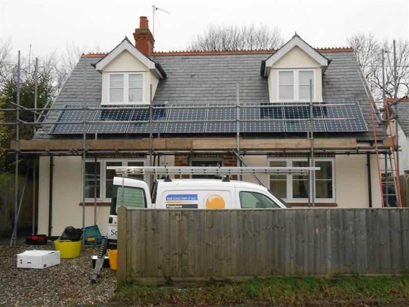 Solar Panel Installation Wallingford Oxfordshire Ox10 2