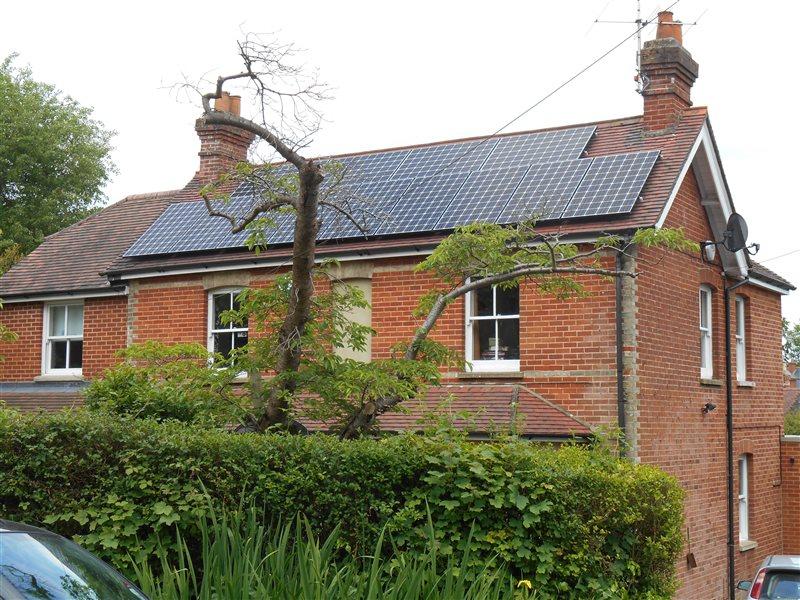 Solar Panel Installation Rowledge Farnham Surrey Gu10 2