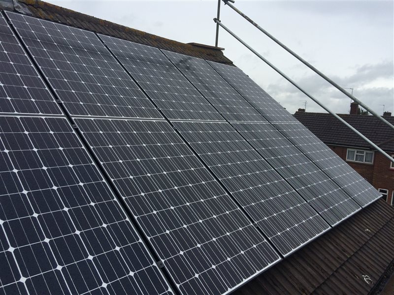 Solar Panel Installation Colchester Essex May15 Co2