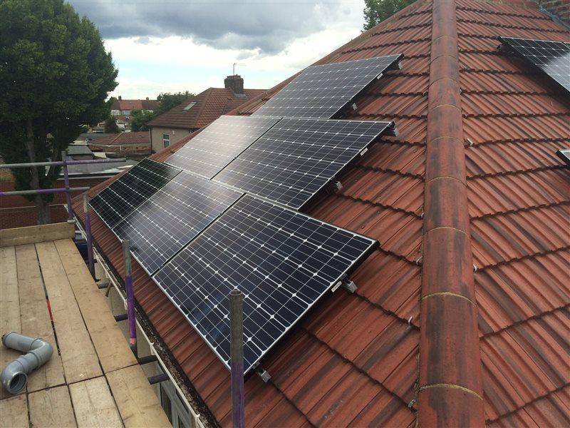 Solar Panel Installation Southall London 220615 Ub1