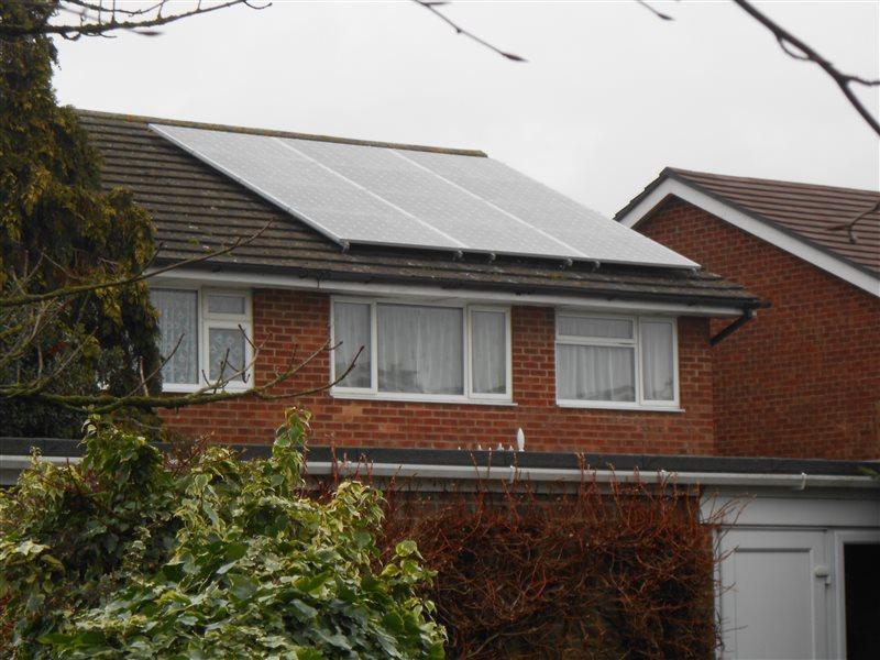 Solar Panel Installation Begbroke Oxfordshire Ox5